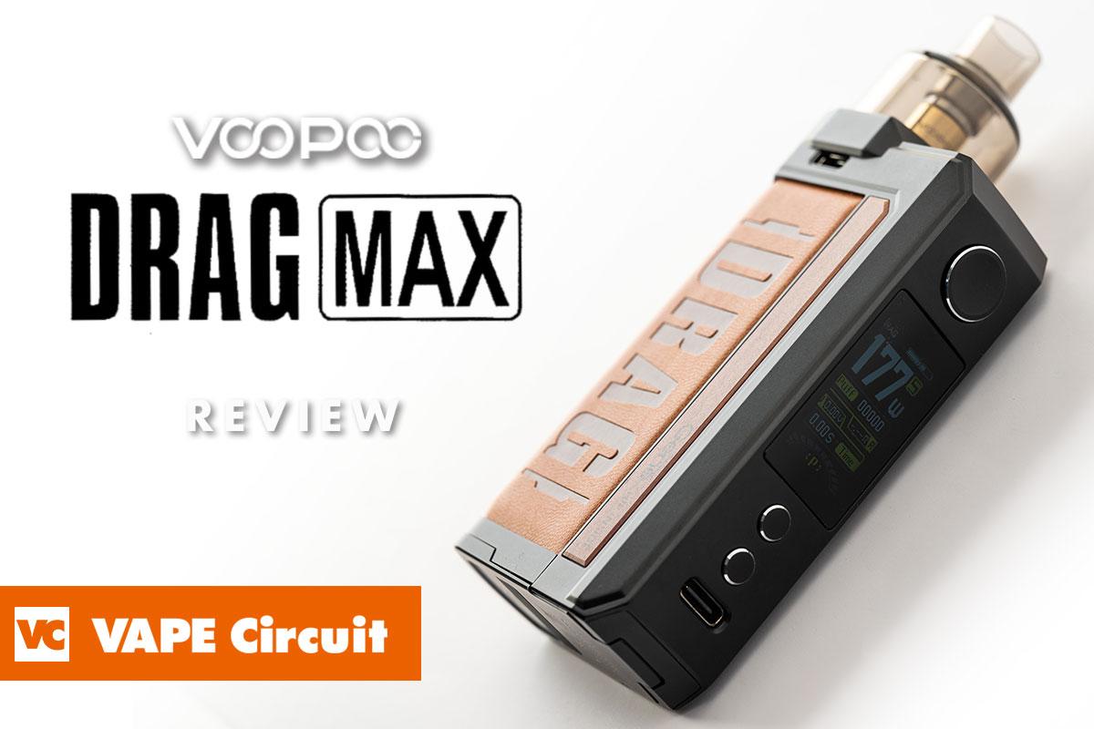 VOOPOO DRAG MAX(ブープー ドラッグマックス)レビュー