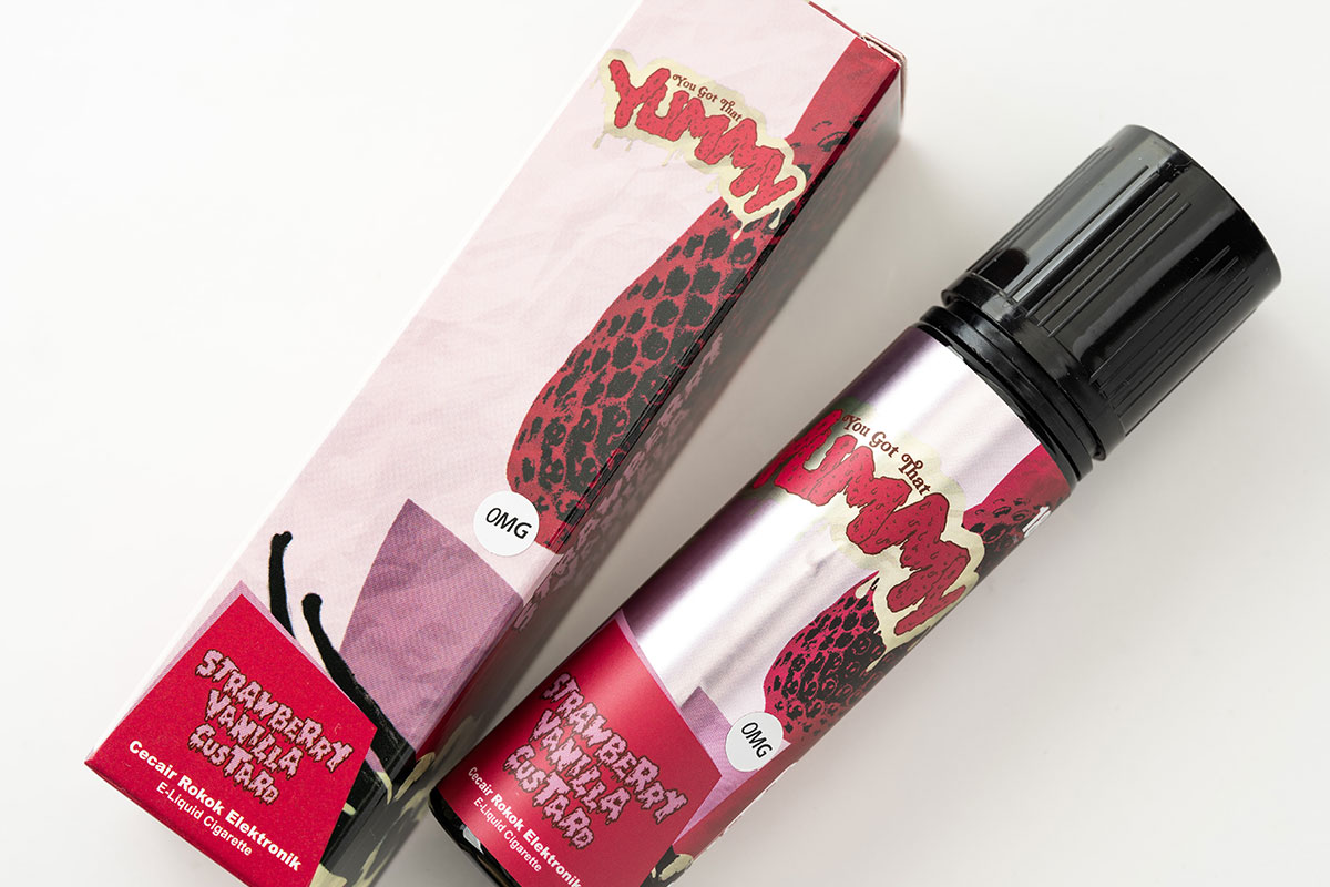 YUMMY Strawberry Vanilla Custard(ヤミー ストロベリーバニラカスタード)レビュー