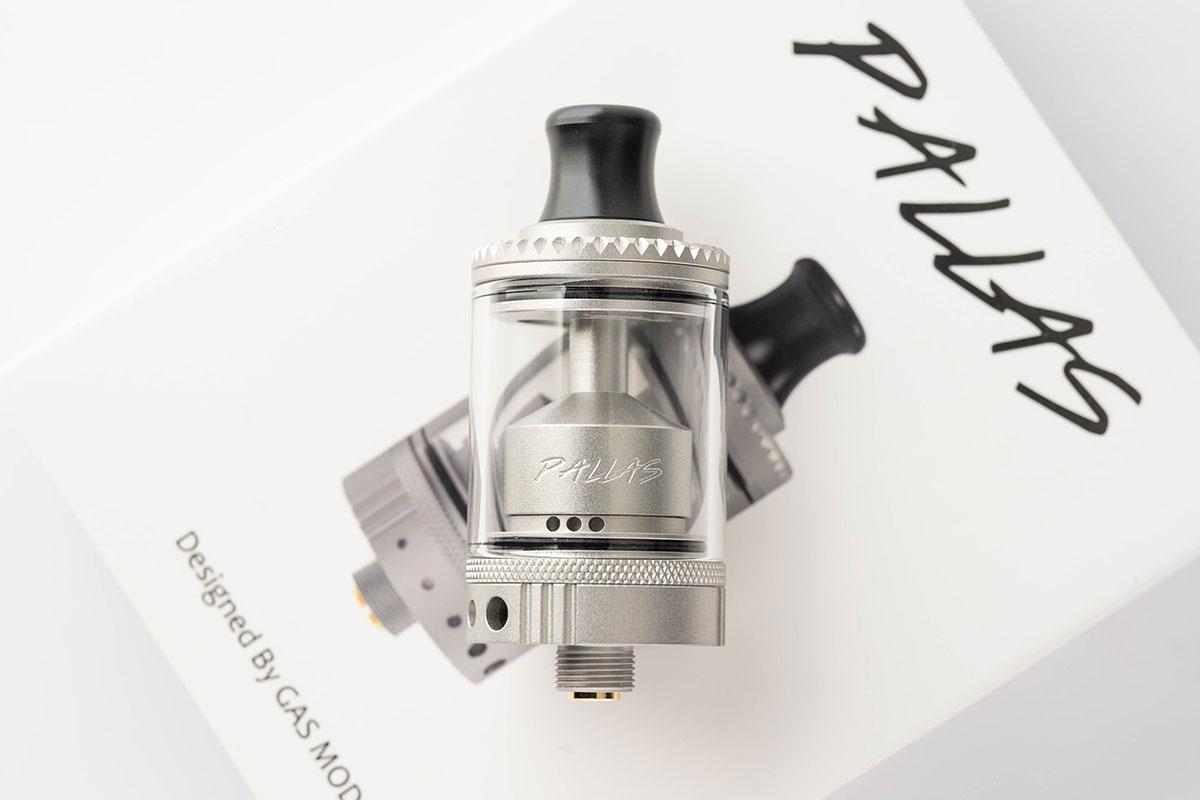Gas Mods Pallas RTA(ガスモッズ パラスタンク)レビュー