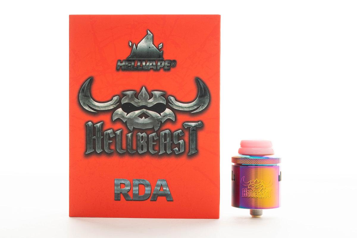 HELLVAPE Hellbeast RDA(ヘルベイプ ヘルビースト ドリッパー)レビュー