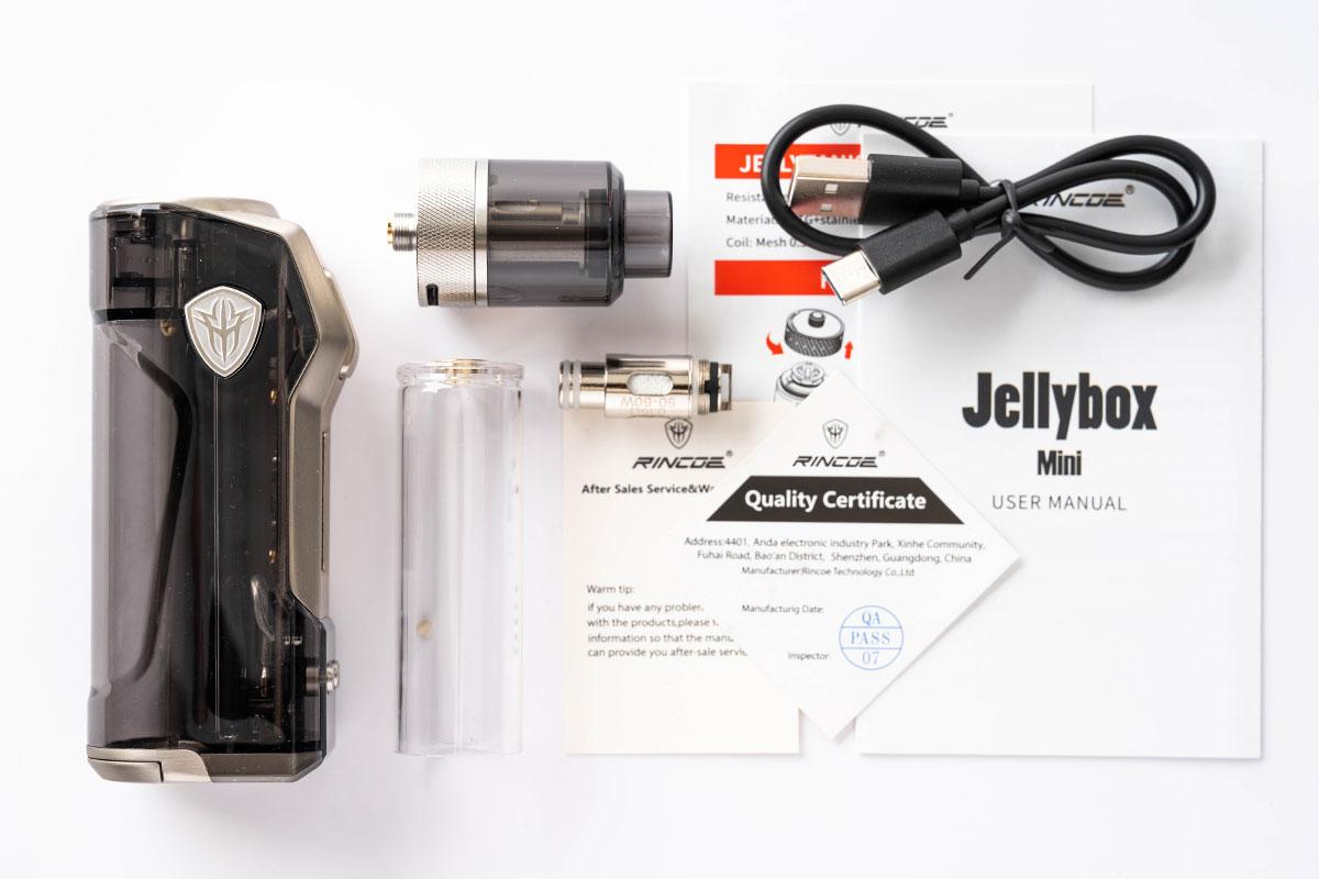 RINCOE Jellybox Mini(リンコー ジェリーボックスミニ 80W)レビュー|