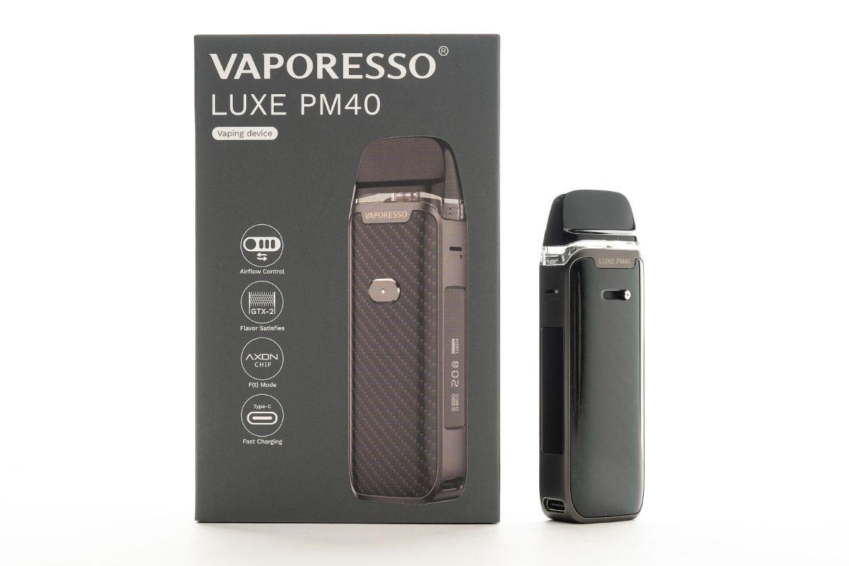 Vaporesso LUXE PM40(ベポレッソ ルクス ピーエム40)レビュー