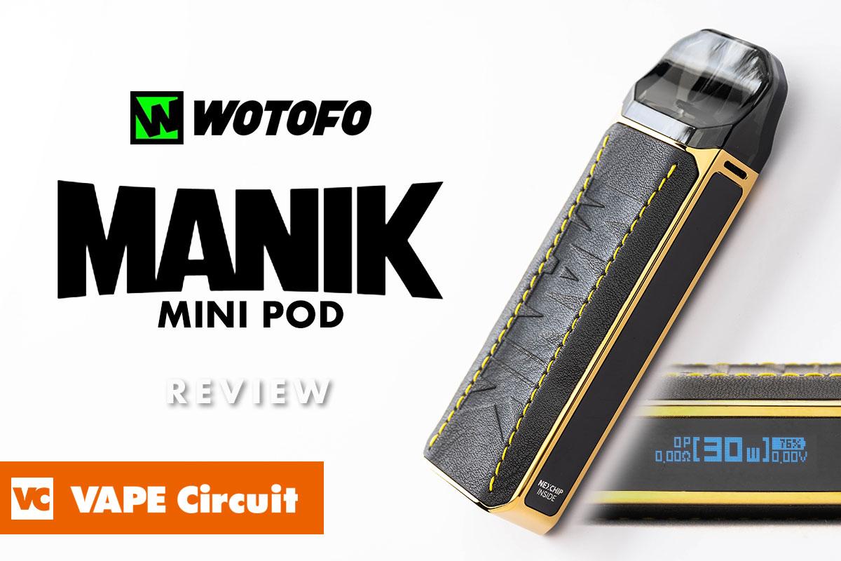 Wotofo Manik Mini(ウォトフォ マニックミニ)レビュー