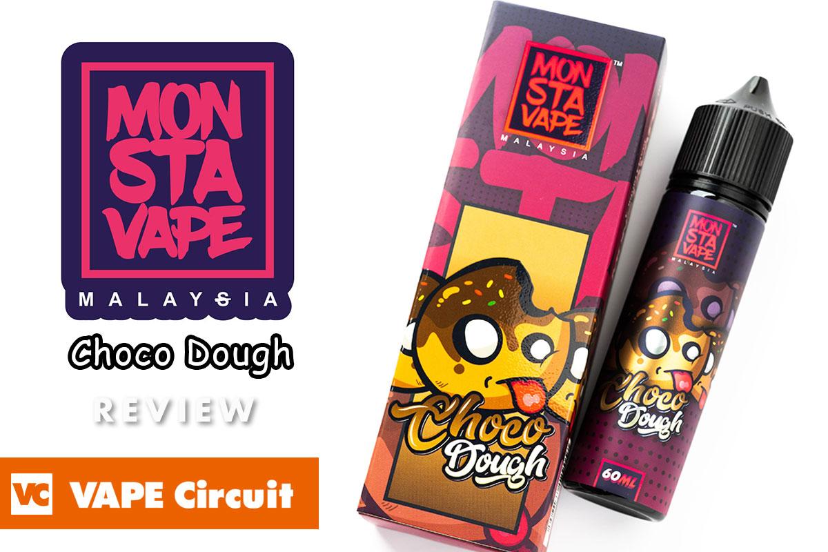 Monsta Vape Choco Dough(モンスタベイプ チョコドーツ)レビュー