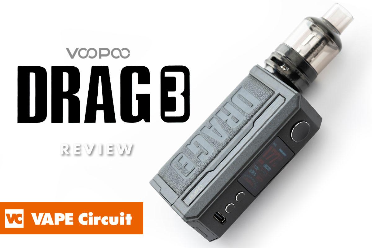 VOOPOO DRAG 3(ブープー ドラッグ3) レビュー