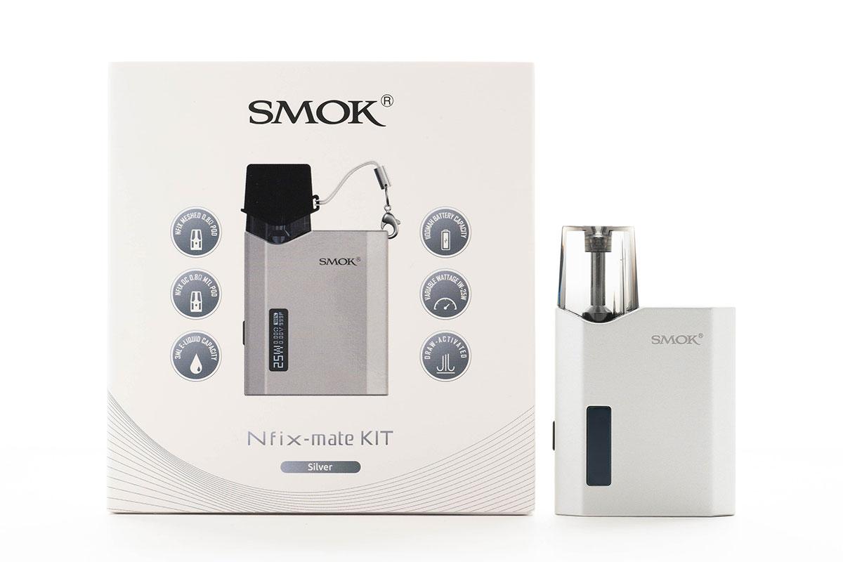 SMOK Nfix-mate KIT(スモック エヌフィックスメイト)レビュー
