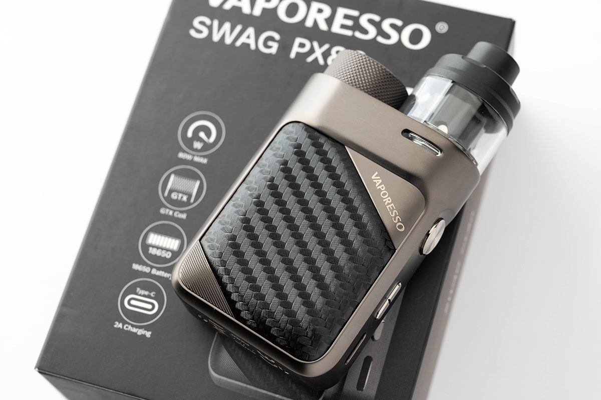 Vaporesso SWAG PX80(ヴェパレッソ スワッグ ピーエックス80)レビュー
