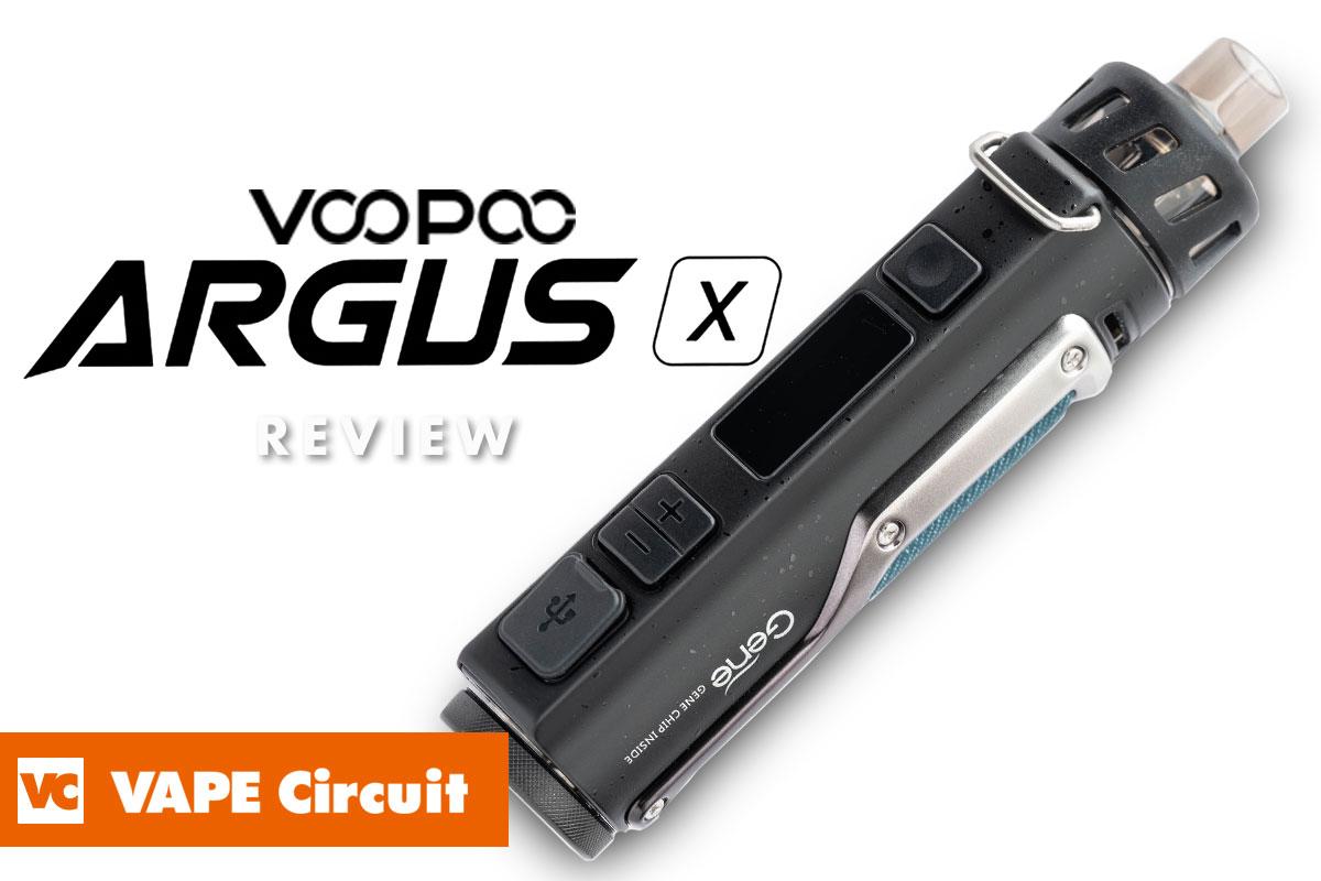 VOOPOO ARGUS X(ブープー アーガスエックス)レビュー