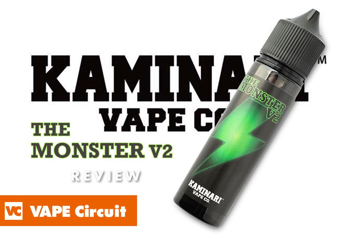 KAMINARI VAPE CO. THE MONSTER V2(カミナリベイプ ザ・モンスターV2)レビュー