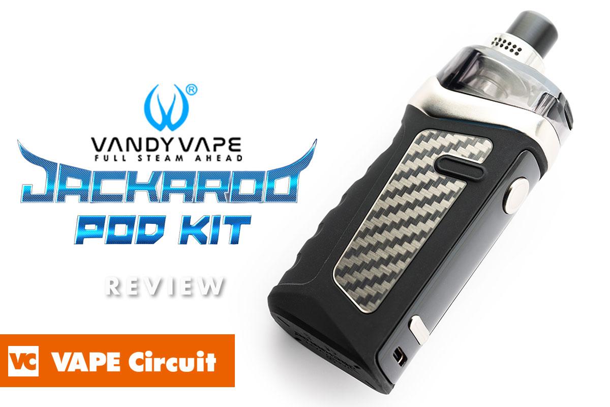 Vandy Vape Jackaroo Pod(バンディベイプ ジャックアロー ポッド)レビュー