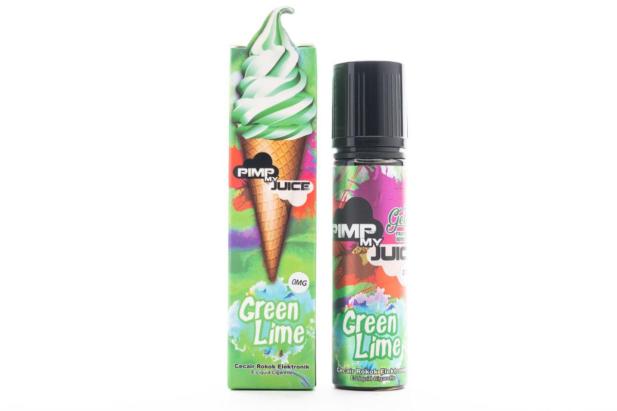 Pimp my Juice Green lime(ピンプマイジュース グリーンライム)レビュー