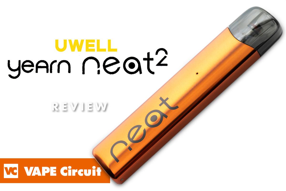 UWELL Yearn Neat 2(ユーウェル ヤーンニート2)レビュー