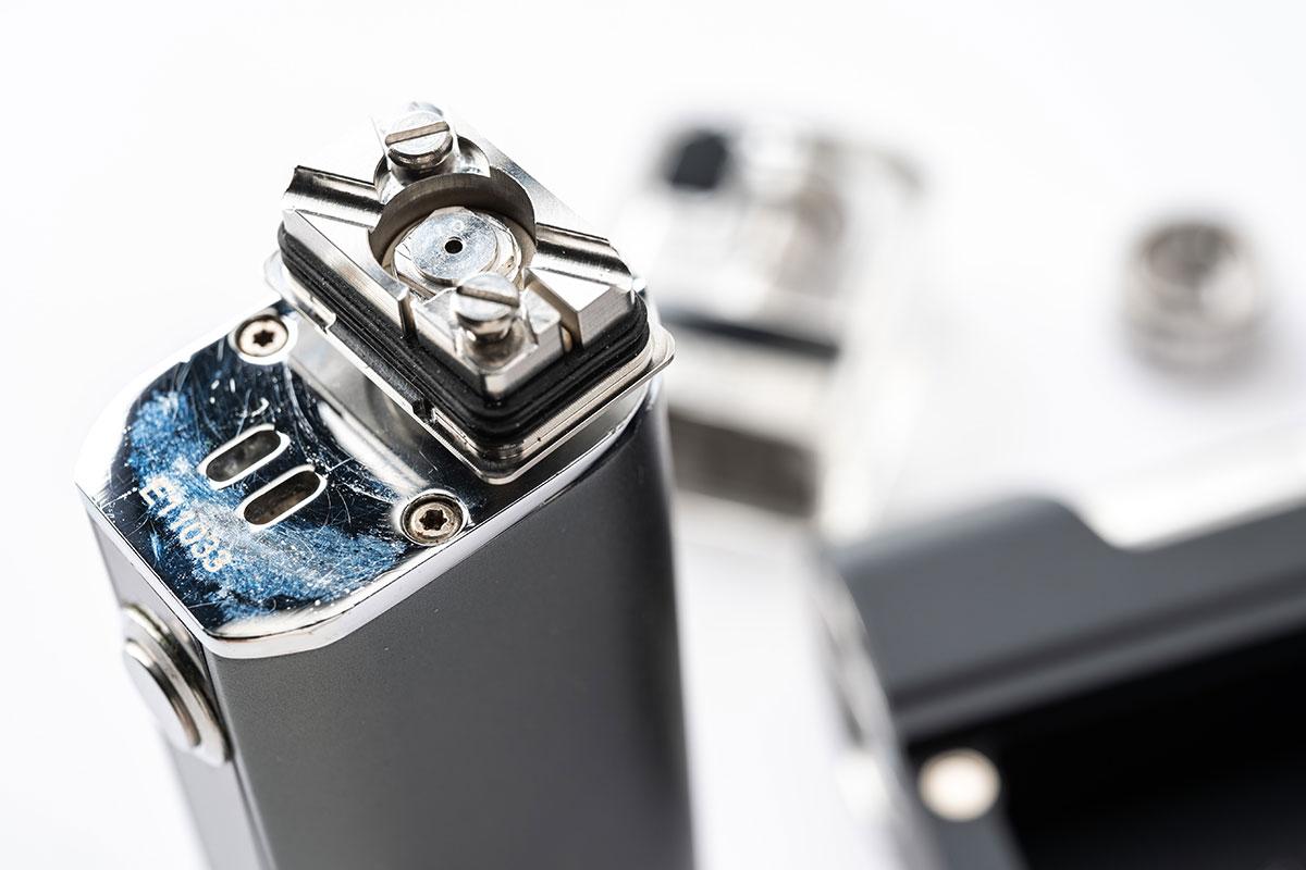 aspire BOXX(アスパイア ボックス)レビュー|SUNBOX(サンボックス)とAtmizoo(アトミズー)コラボのハイエンドデバイス!