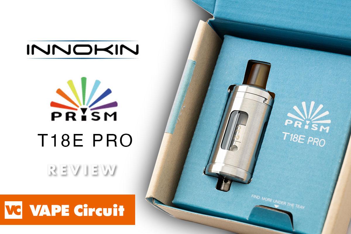 INNOKIN PRISM T18E Pro Tank(イノキン プリズム ティー18イープロタンク)レビュー