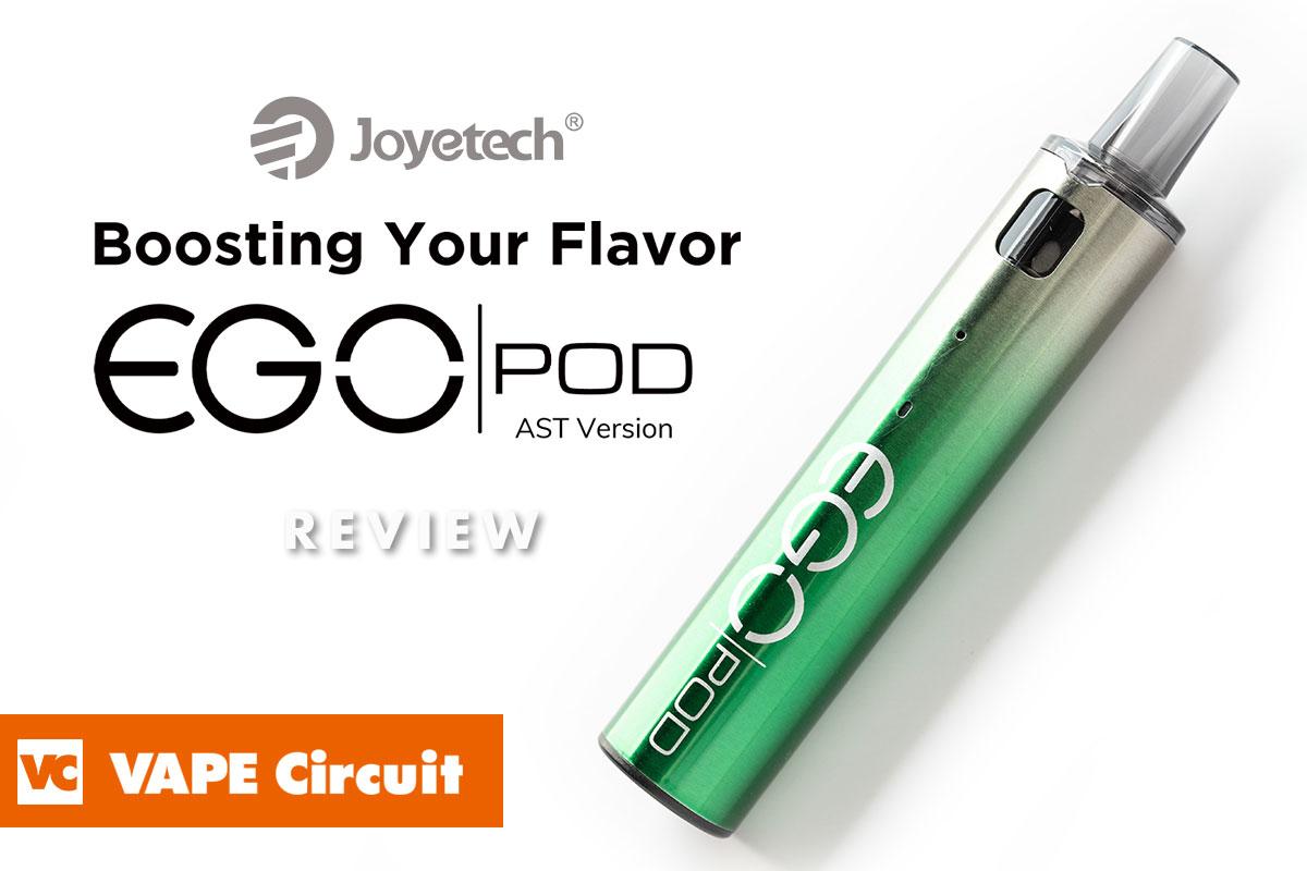 Joyetech eGo Pod AST Version(ジョイテック イーゴポッド)レビュー