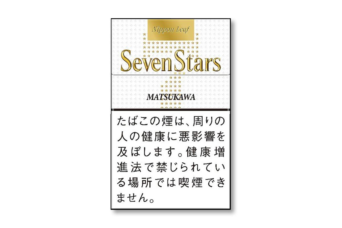 JT「セブンスター・ニッポン・リーフ・マツカワ」を数量限定発売