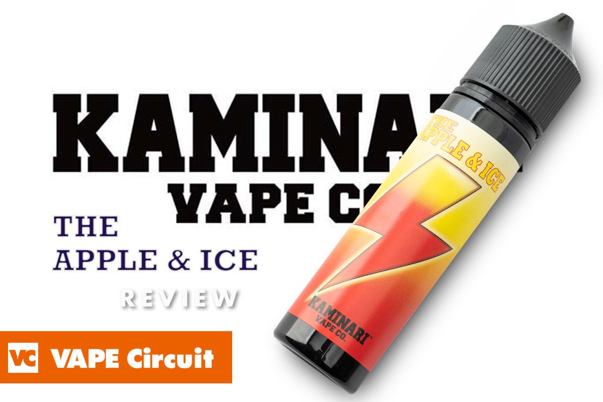 KAMINARI VAPE CO. THE APPLE & ICE(カミナリベイプ ザ アップル&アイス)レビュー
