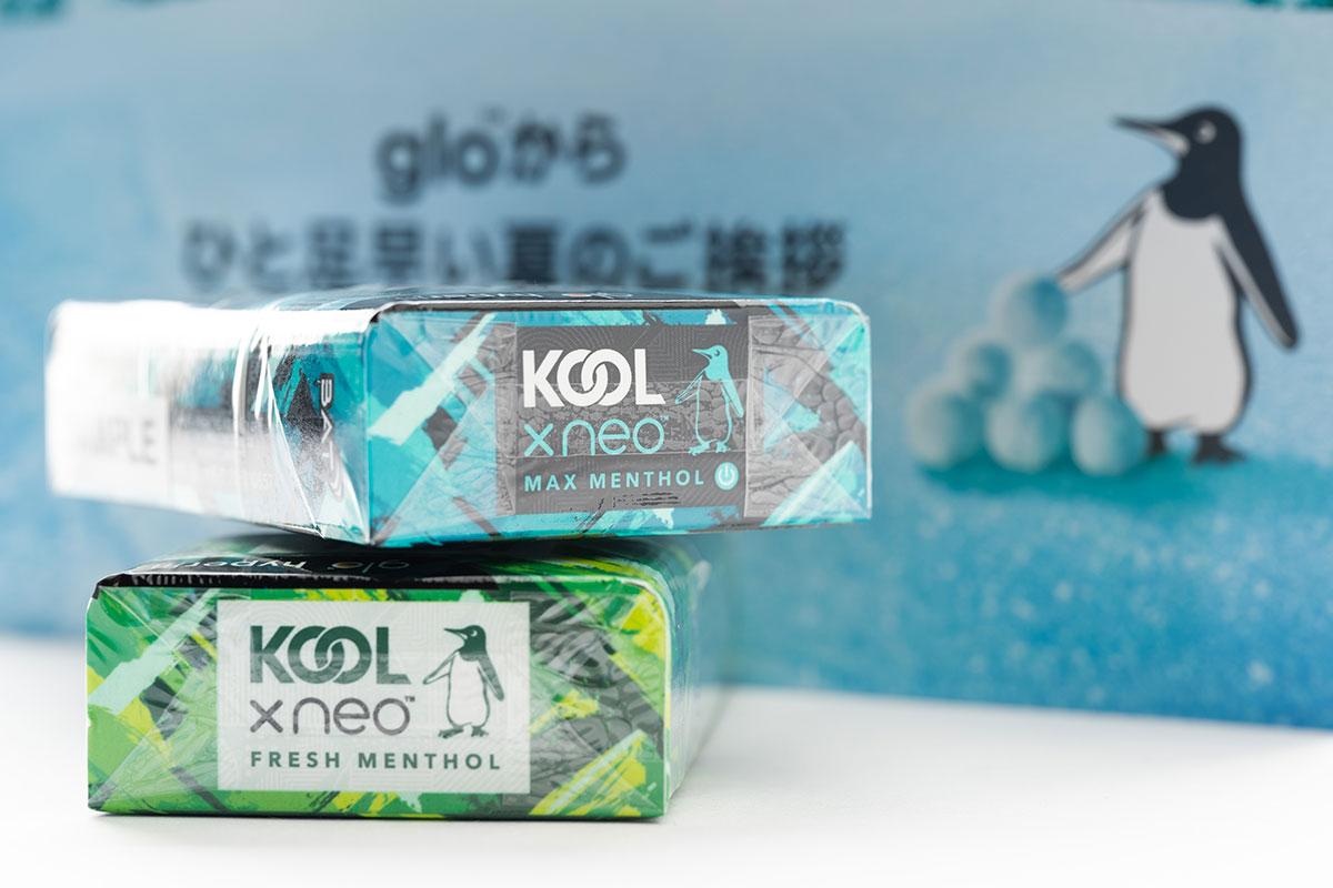 KOOL X neo レビュー|グローハイパー専用!glo史上最強メンソールが満を辞して登場!