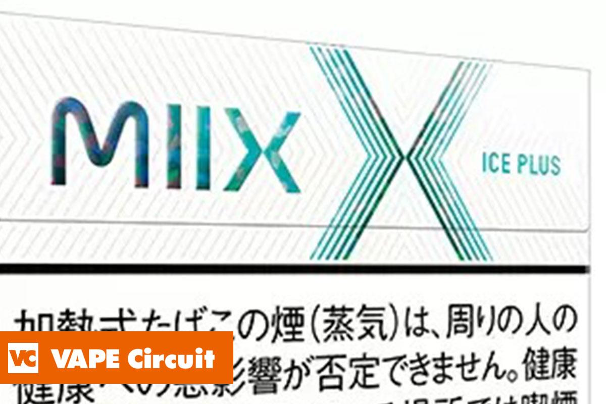 lil HYBRID(リル ハイブリッド)専用たばこ製品 MIIX(ミックス)アイス プラス