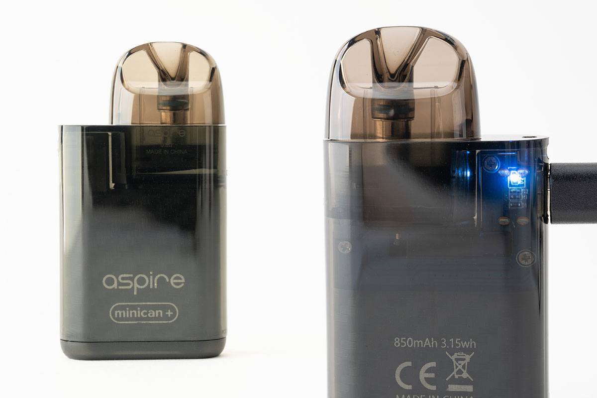 aspire Minican+(アスパイア ミニカンプラス)レビュー
