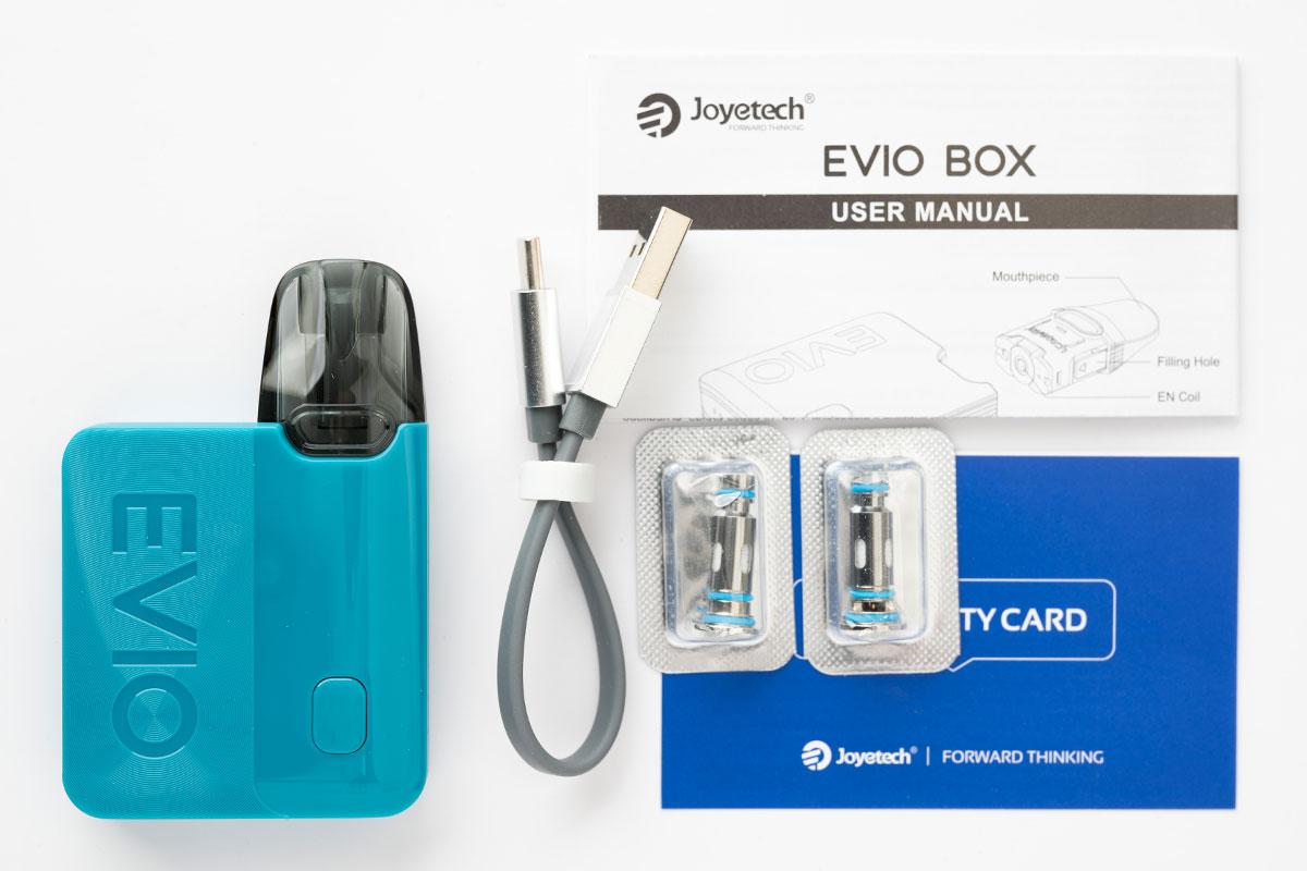 Joyetech EVIO BOX(ジョイテック エヴィオボックス)レビュー