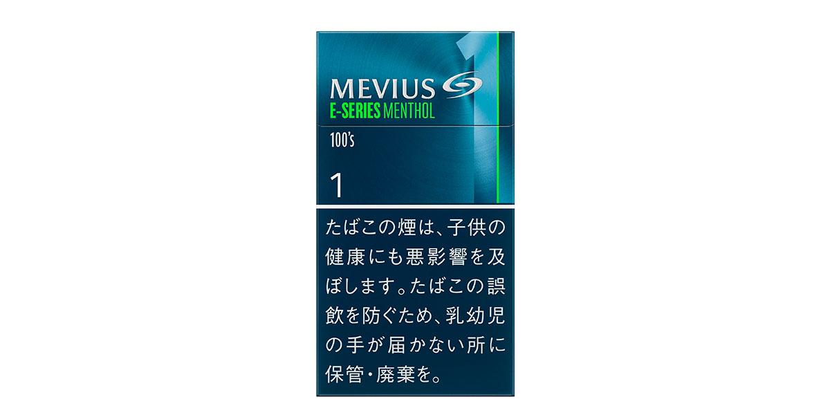 メビウス・Eシリーズ・メンソール・ワン・100's