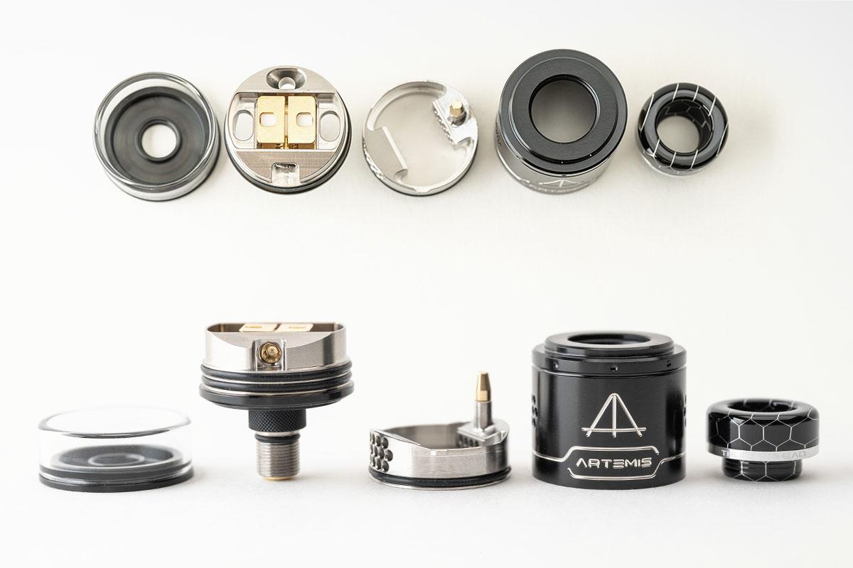 THC ARTEMIS V1.5 RDTA(Thunder Head Creations サンダーヘッドクリエイションズ アルテミス v1.5 ドリッパータンク)レビュー