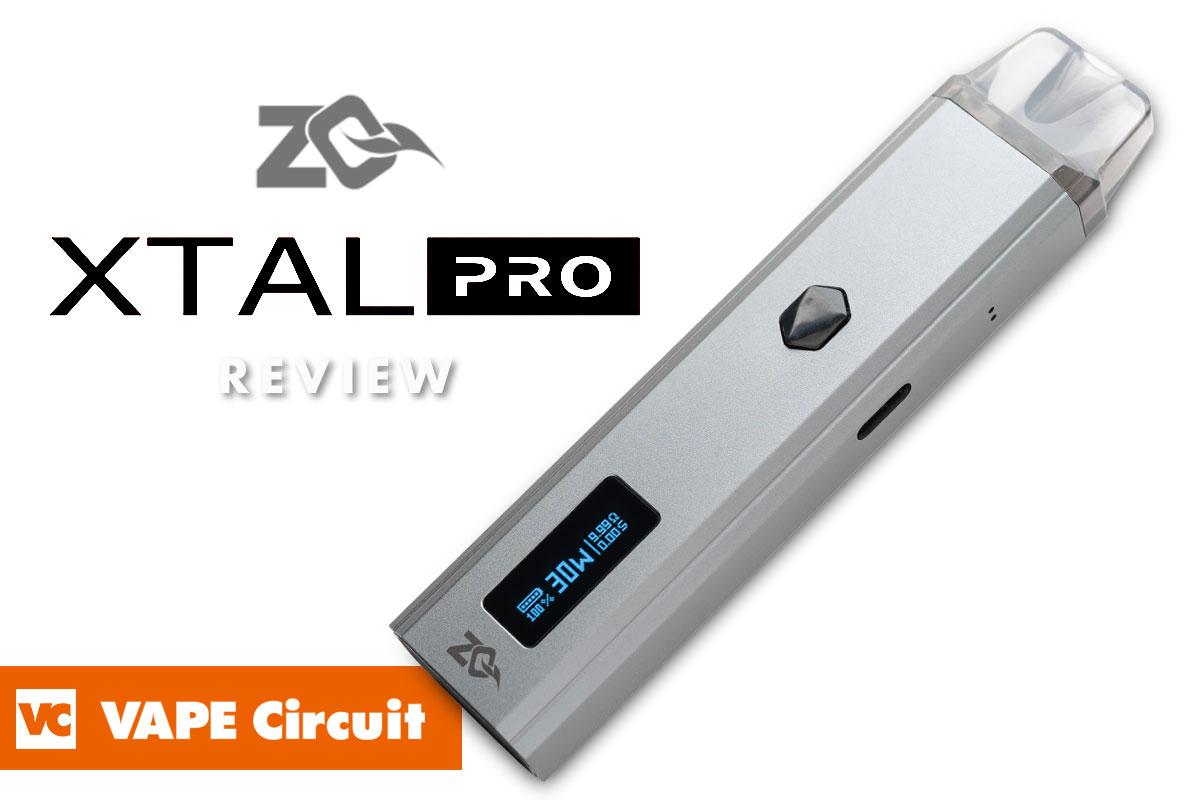 ZQ Vapor XTAL PRO(ゼットキューベイパー エクスタルプロ)レビュー