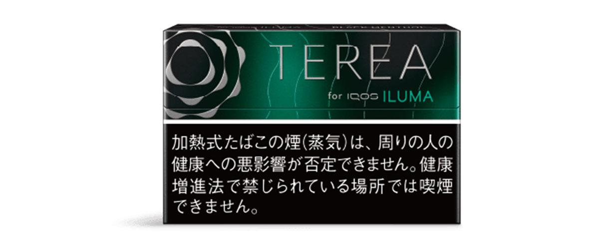 iQOS ILUMA(アイコスイルマ)専用たばこスティック TERIA(テリア) ブラックメンソール