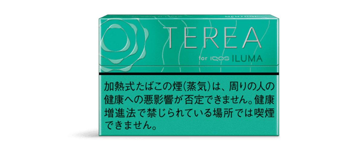 iQOS ILUMA(アイコスイルマ)専用たばこスティック TERIA(テリア) メンソール