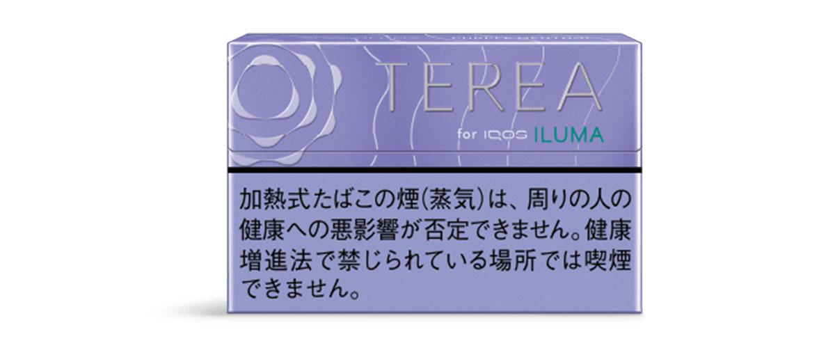 iQOS ILUMA(アイコスイルマ)専用たばこスティック TERIA(テリア)パープルメンソール