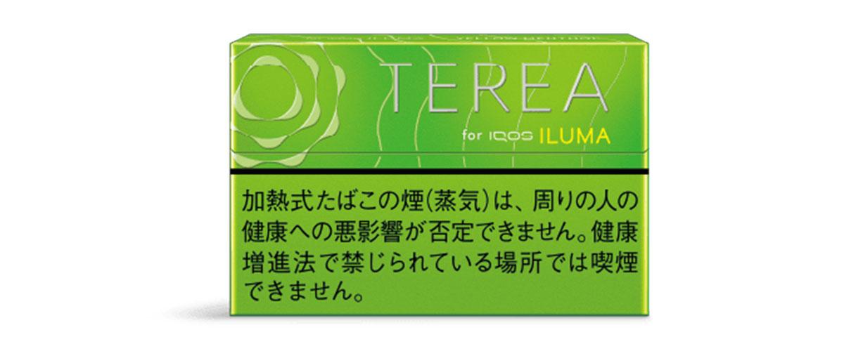 iQOS ILUMA(アイコスイルマ)専用たばこスティック TERIA(テリア) イエローメンソール