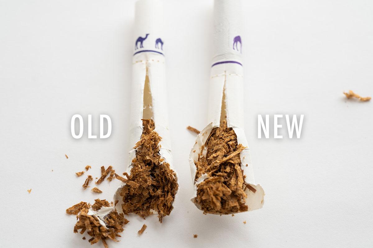 プルームエックス専用たばこスティック新旧比較