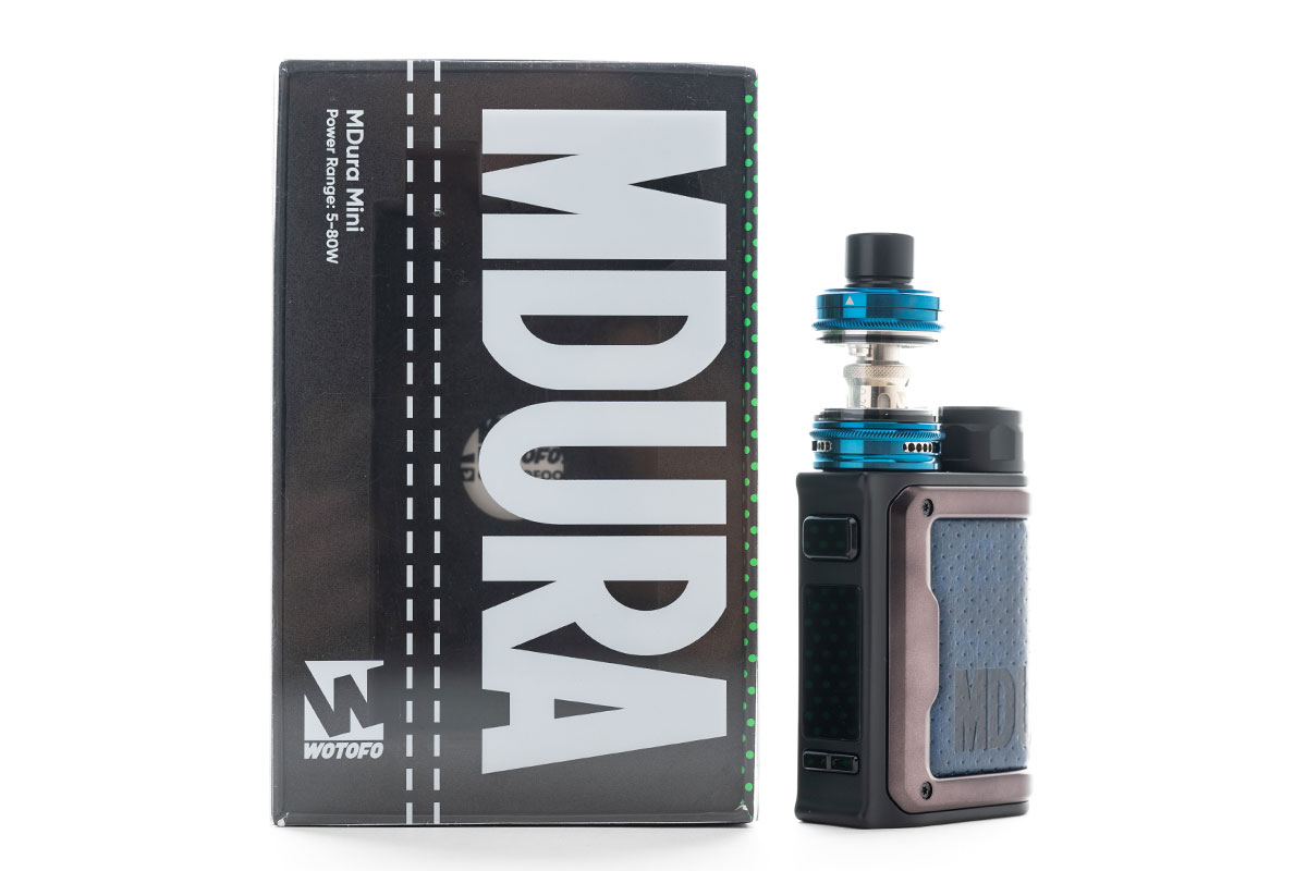 WOTOFO MDura Mini Kit(ウォトフォ エムデュラ ミニ キット)レビュー